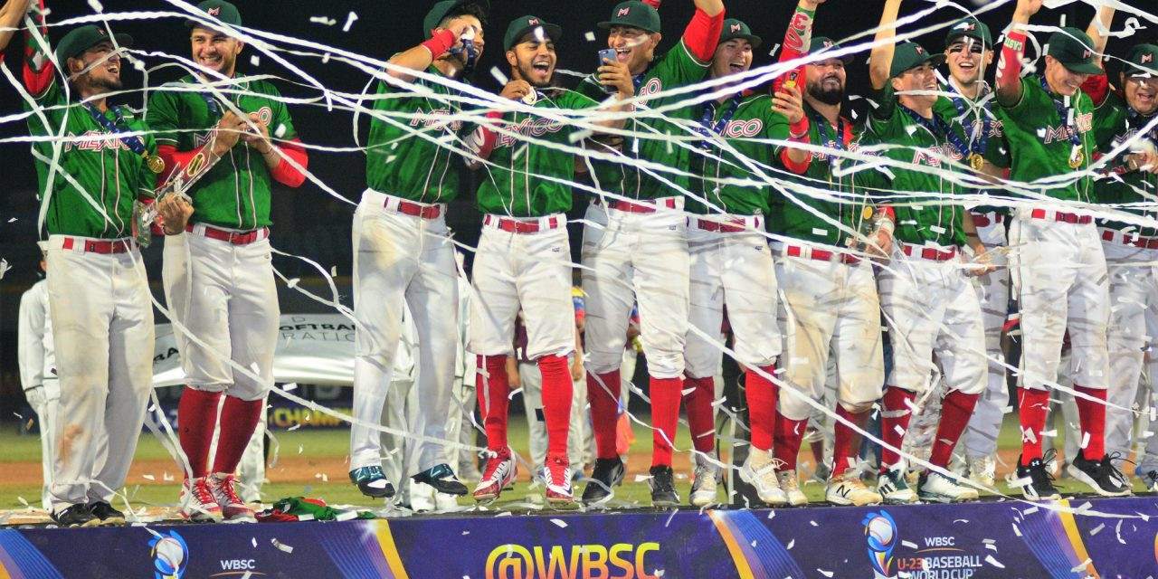 Mexico are the reigning WBSC Under-23 Baseball World Cup champions ©WBSC