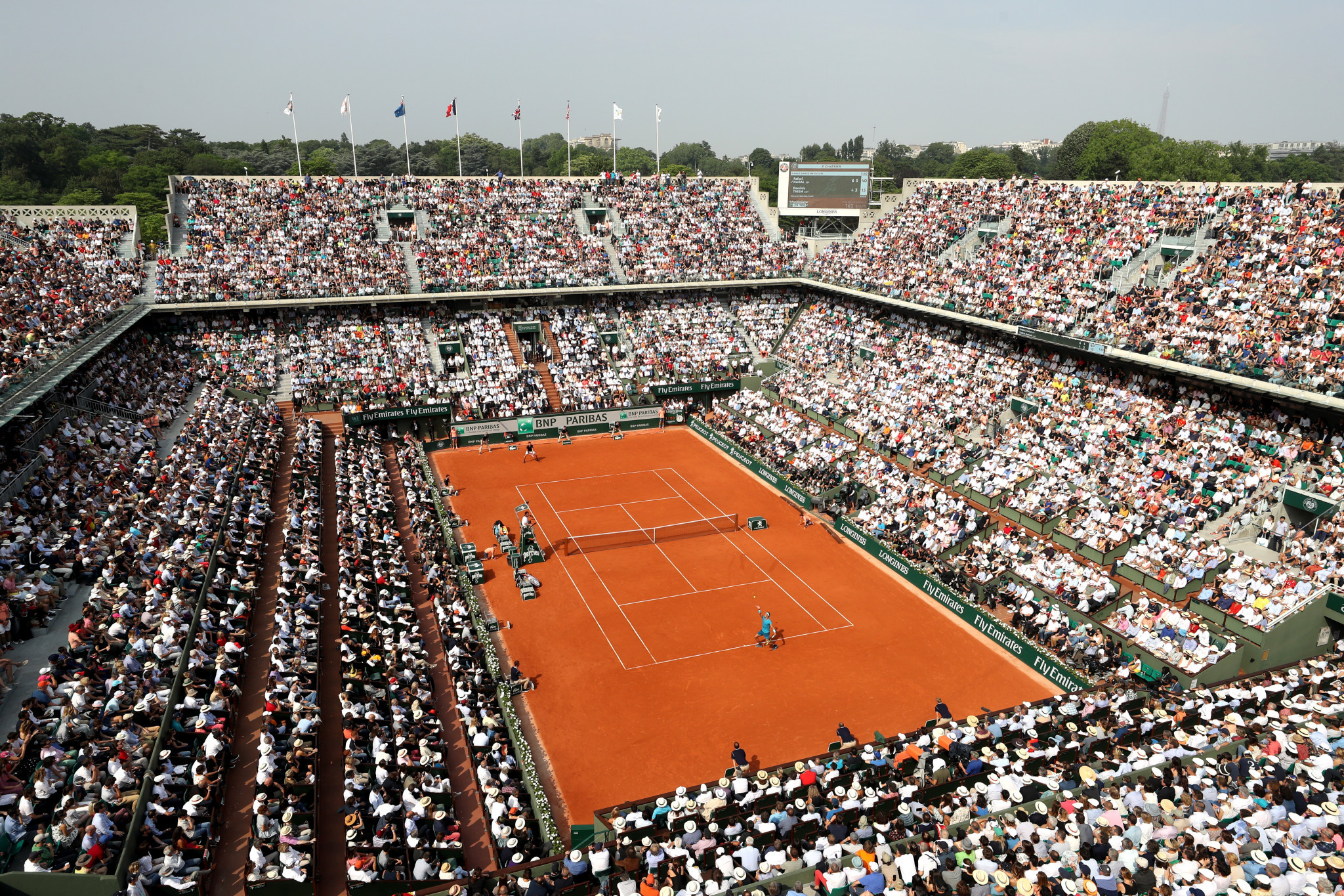 Quad wheelchair tennis action will feature at the French Open for the first time in 2019 ©Getty Images