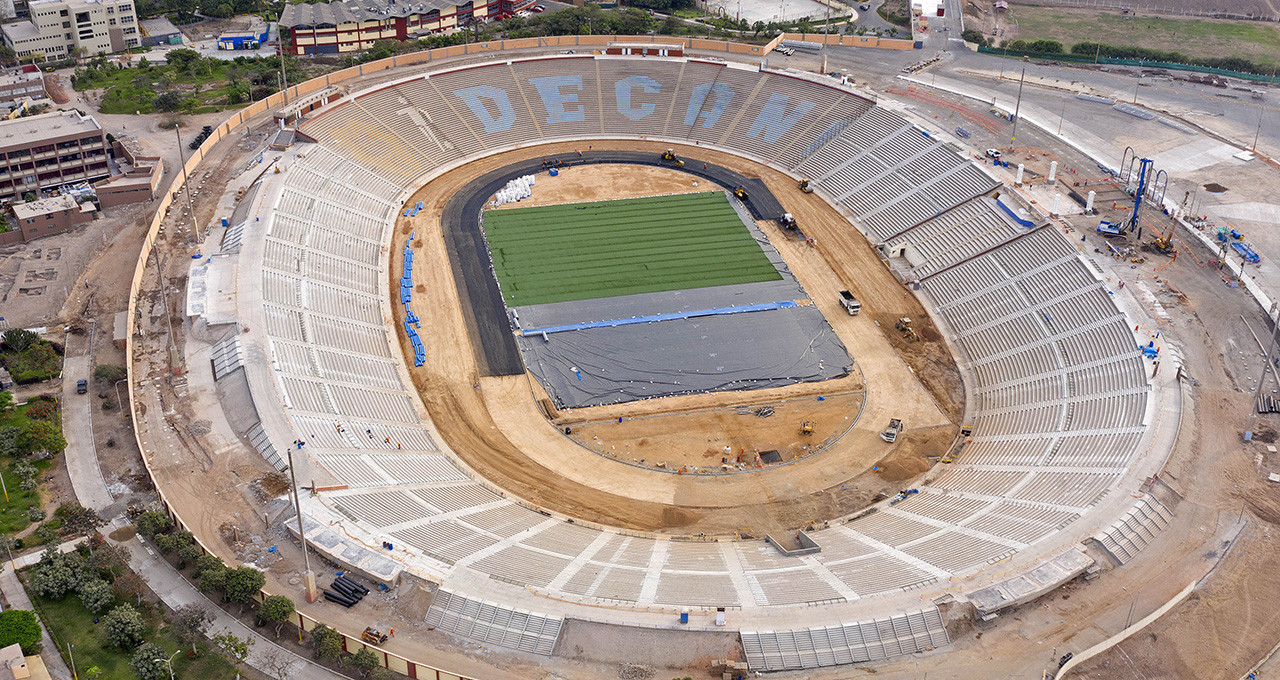 The National University of San Marcos will play host to men's and women's football at the Lima 2019 Pan American Games ©Lima 2019