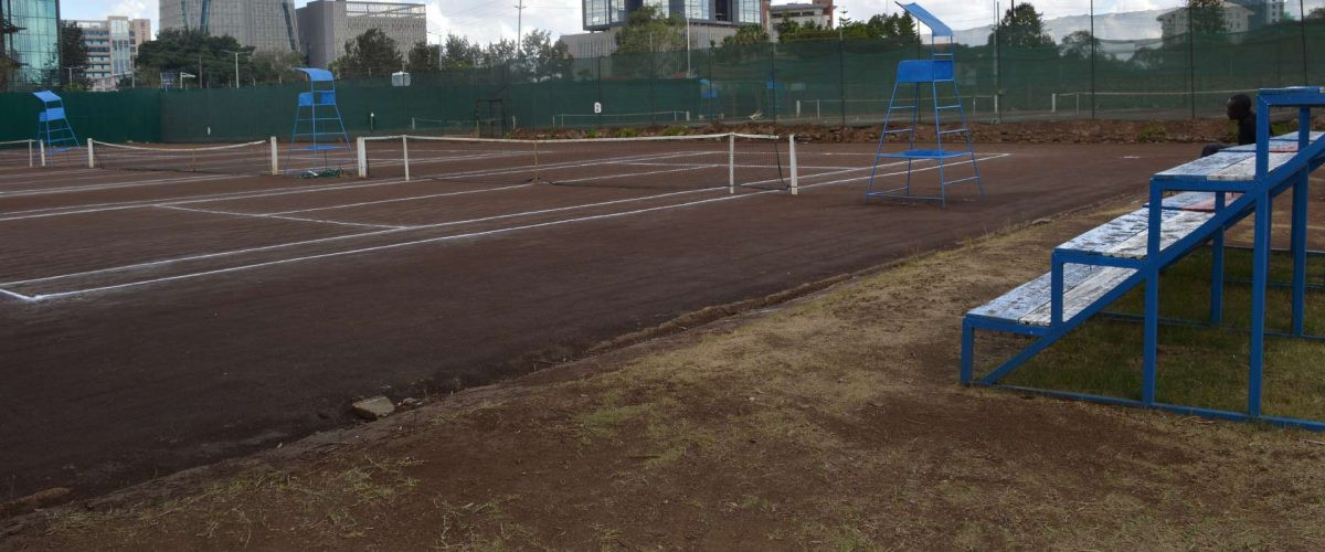 The Nairobi Club's clay courts will host the Africa qualifier from February 14 to 17 ©Nairobi Club