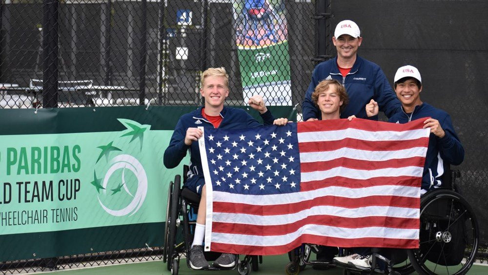 The Americas Qualifier took place earlier this month from which the US' men advanced ©ITF