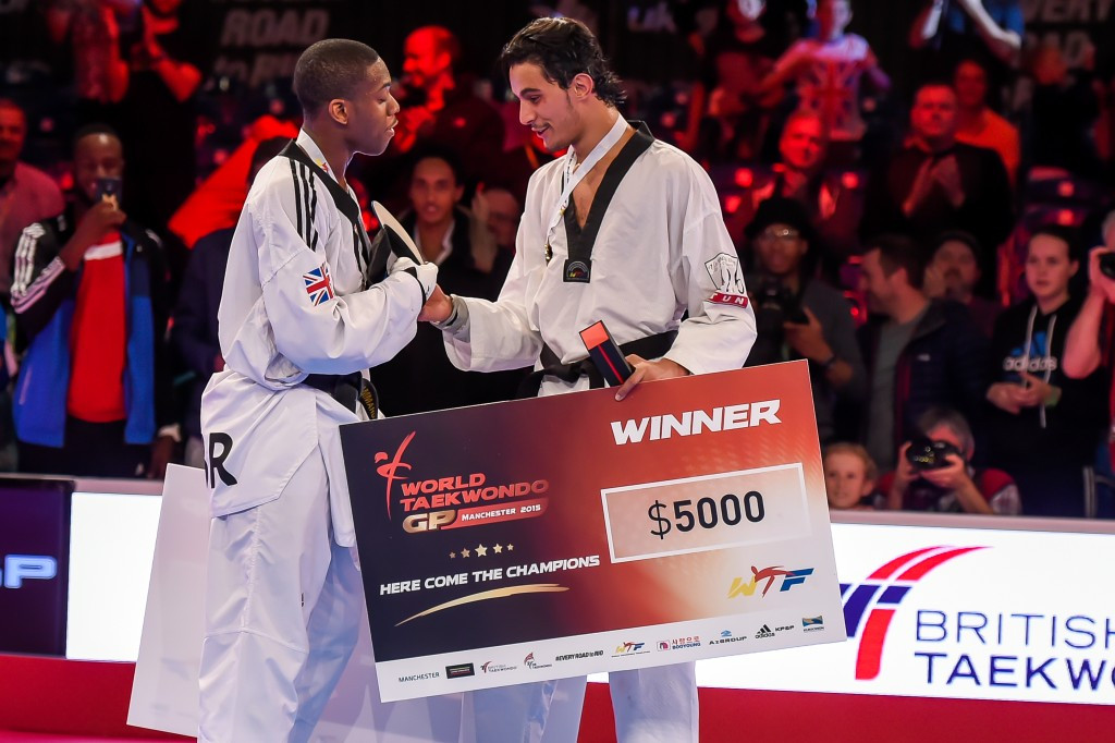 Teenage kicks for Tunisian as home crowd silenced at World Taekwondo Federation Grand Prix