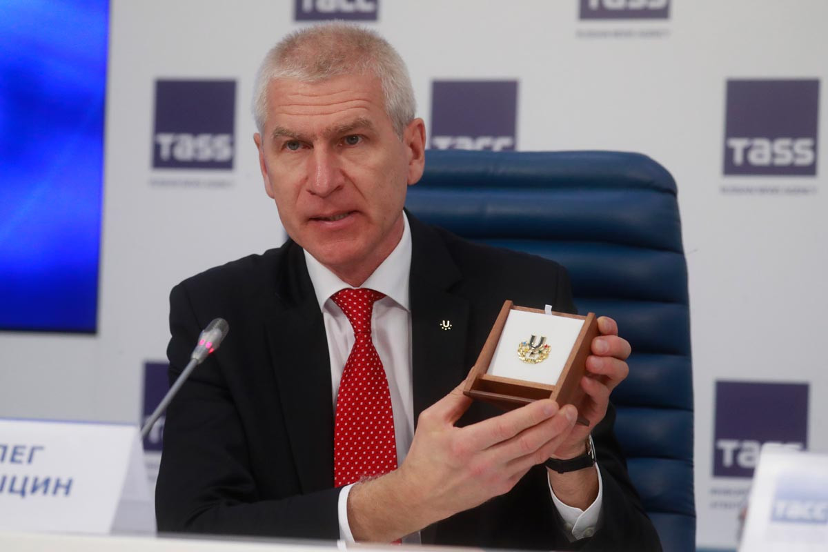 FISU President Oleg Matytsin described Yekaterinburg as a