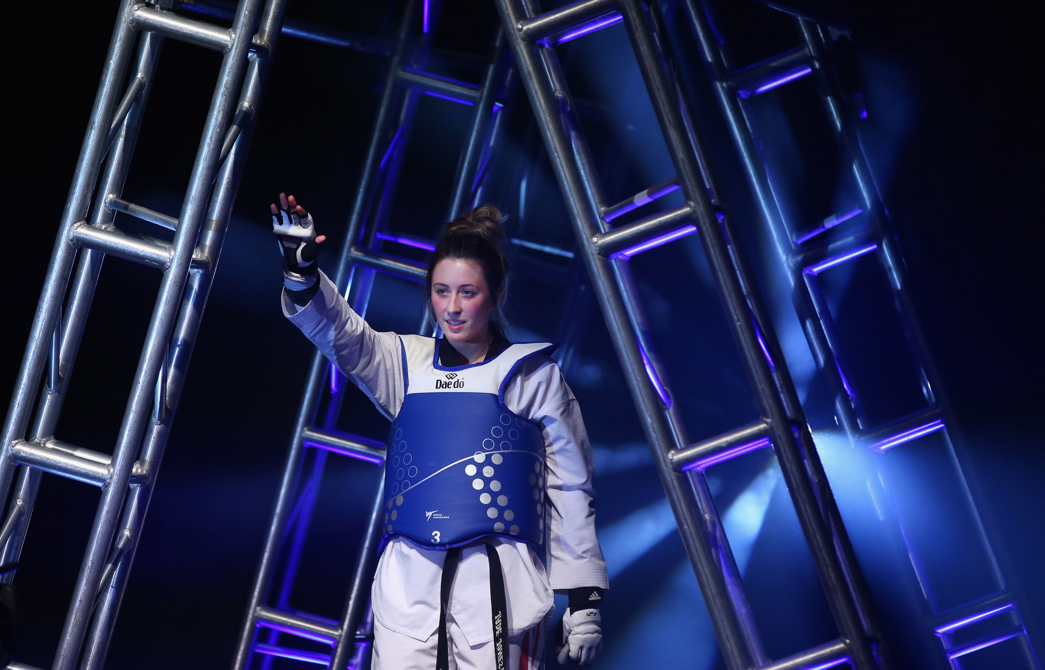 Athletes such as Britain's Jade Jones will compete at May's World Taekwondo Championships in Manchester ©Getty Images