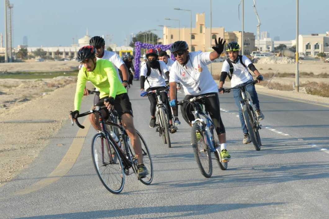 Cycling was one of the sports to feature among the day's events ©BOC