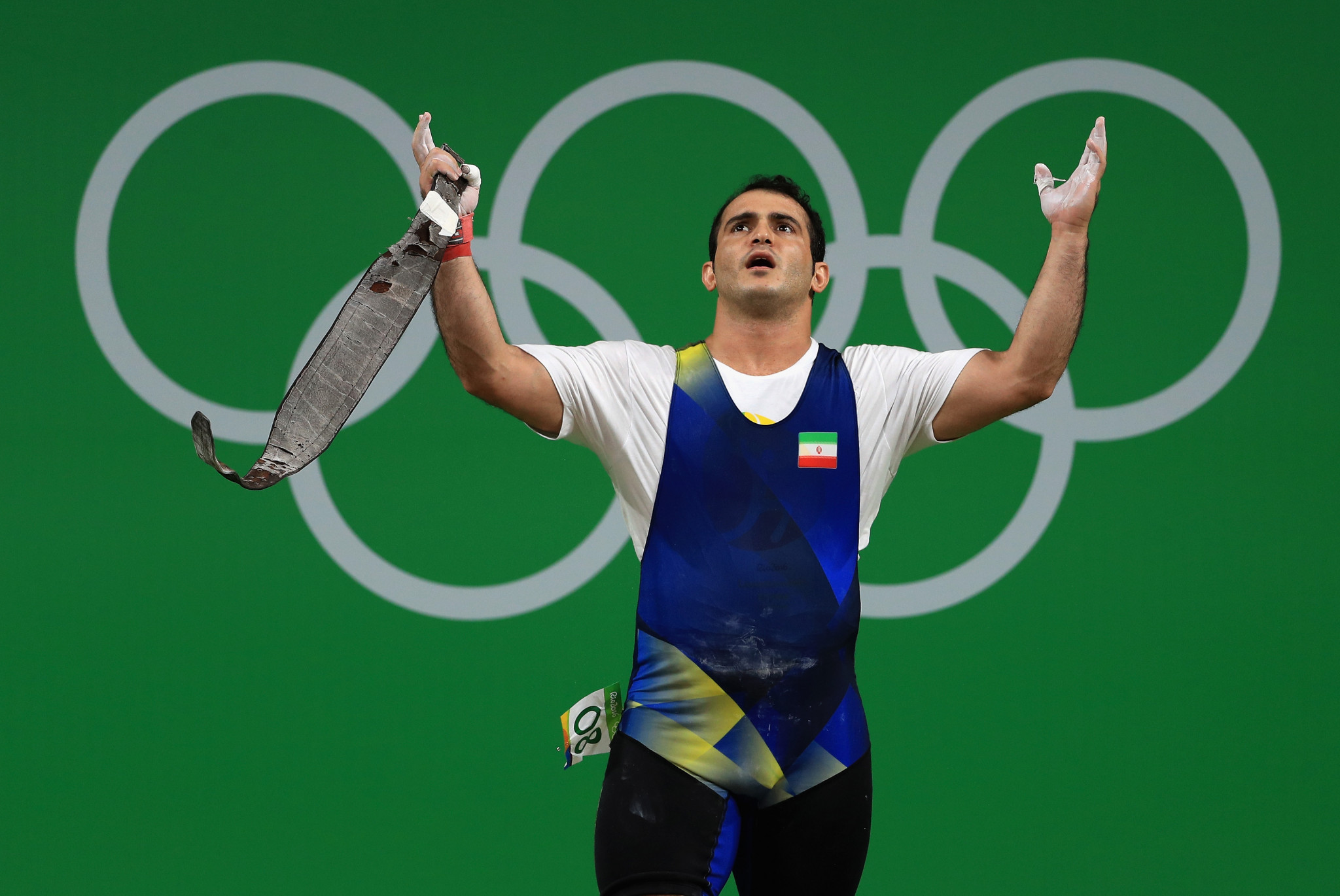 Sohrab Moradi won Olympic gold at Rio 2016 ©Getty Images