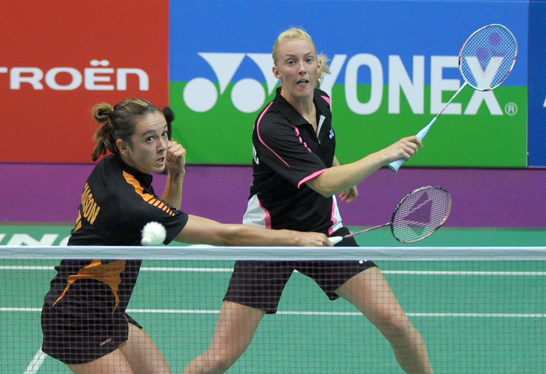 Emma Mason, left, will be the chairperson of the first BWF player review panel ©Getty Images