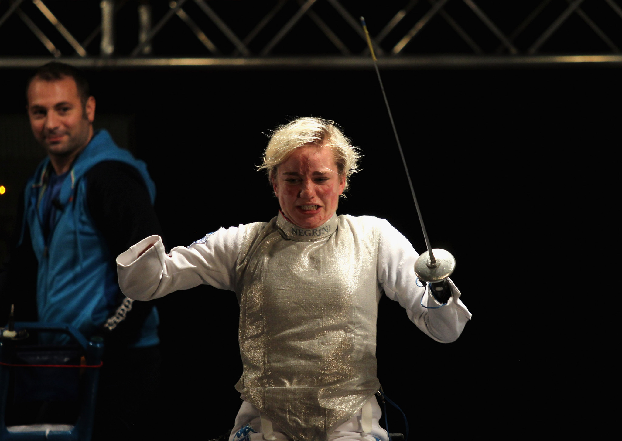 Russia and Italy win team golds as fencing action continues at IWAS World Games