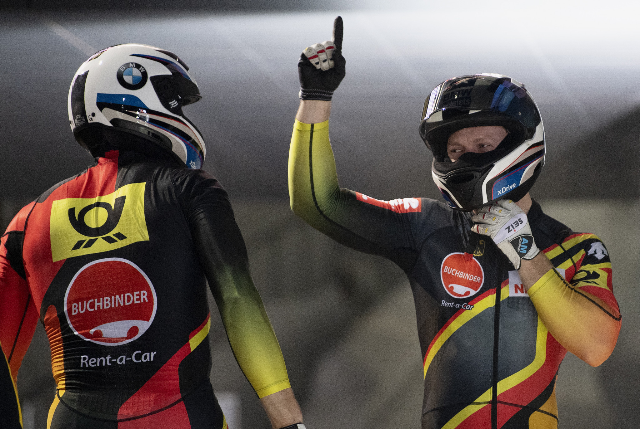 Germany's Francesco Friedrich is leading the two-man and four-man bobsleigh standings going into the IBSF World Cup event in Lake Placid ©Getty Images