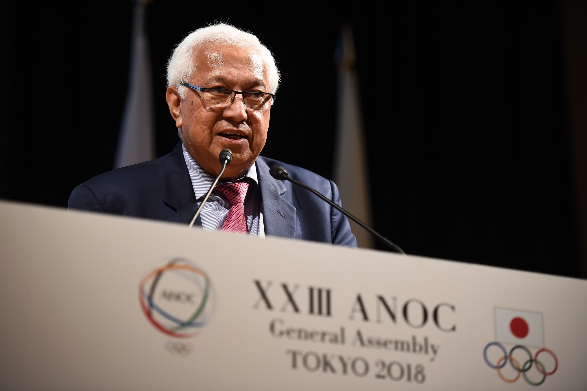 Robin Mitchell holds the interim Presidency of ANOC ©Getty Images