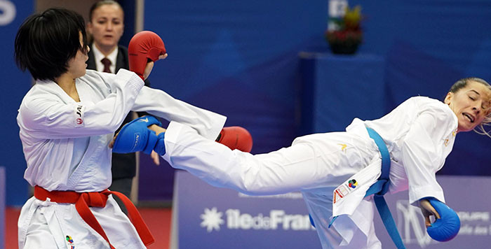 Several athletes who won gold at the last event in Paris are set to compete in Dubai ©WKF