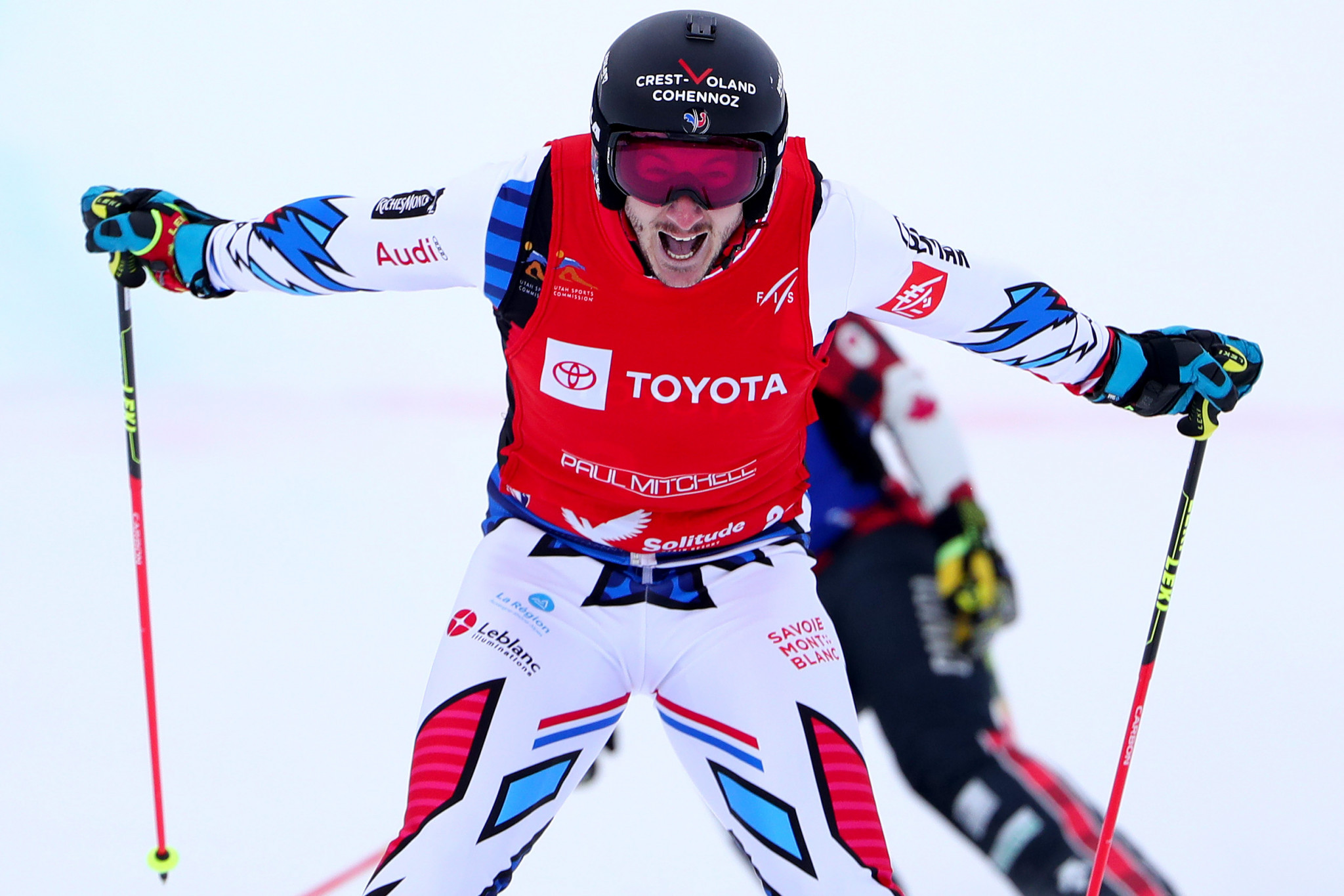 Newly-crowned world champion Place tops men's qualification at FIS Ski Cross World Cup