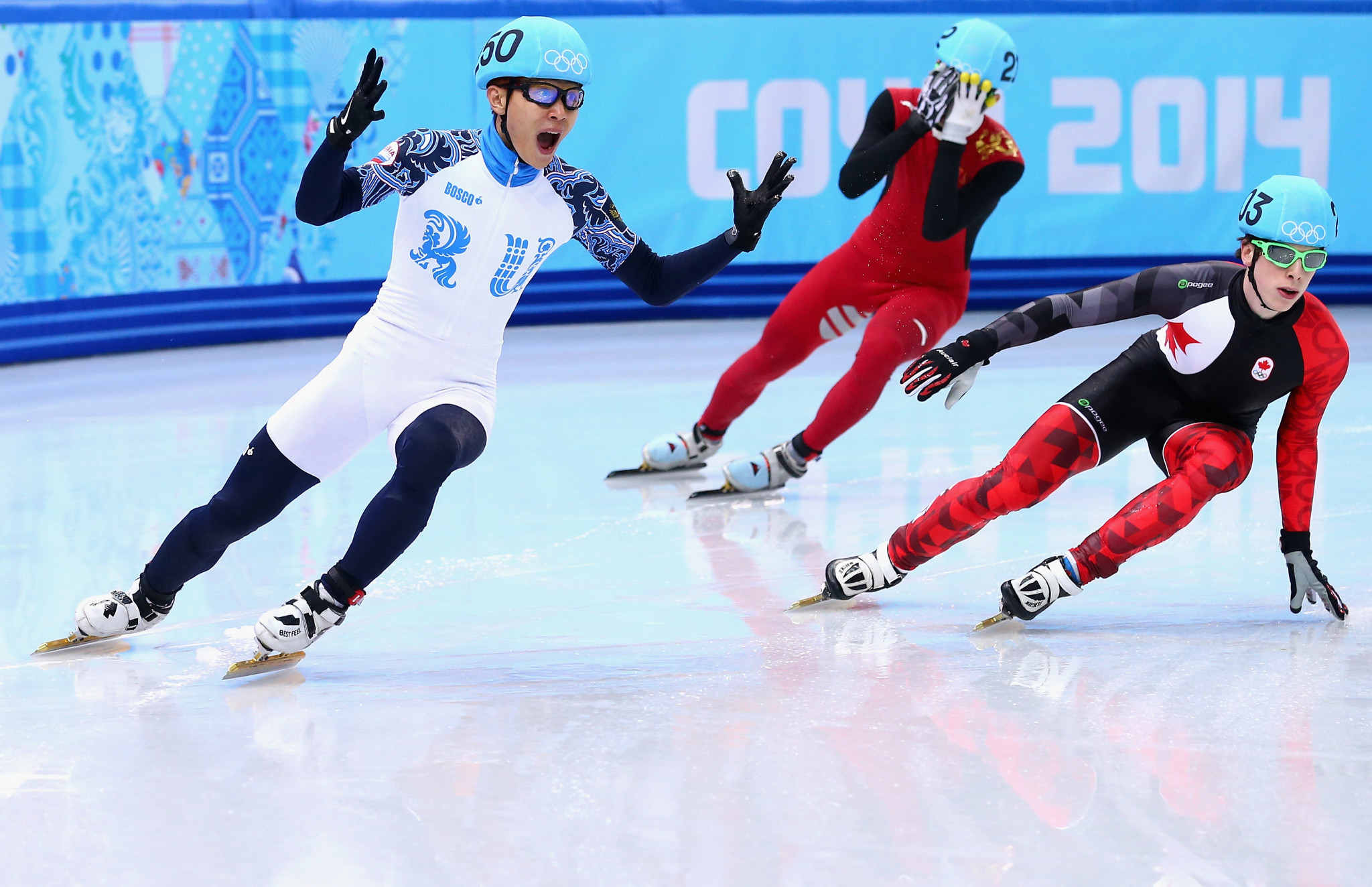 Six-time champion Viktor Ahn is the most decorated short track speed skater in Olympic history ©Getty Images