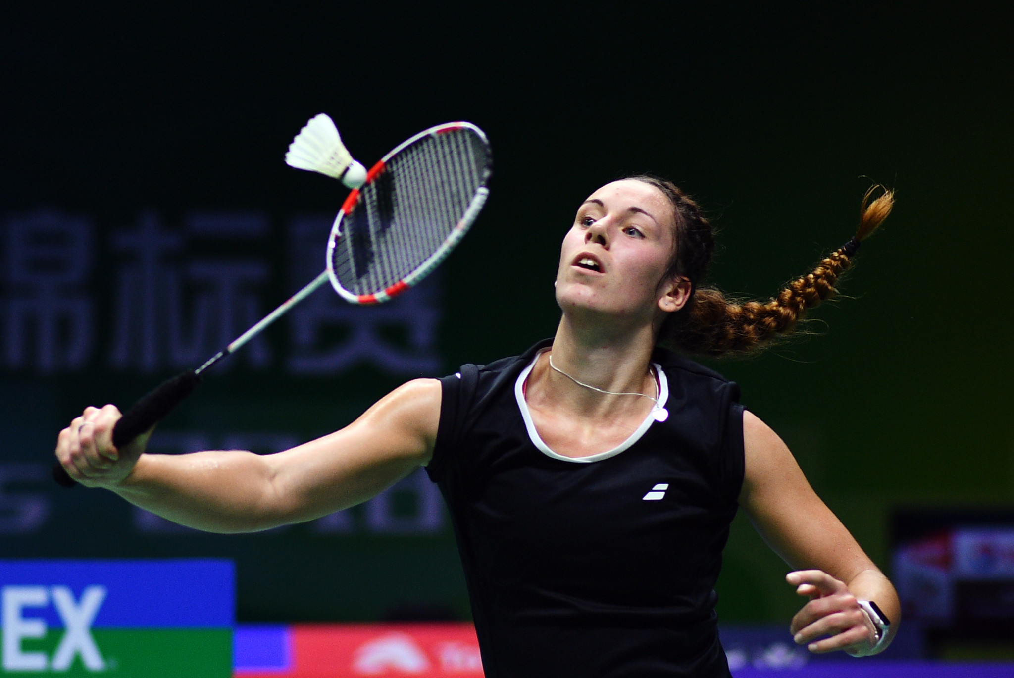 Chloe Birch won her women's singles tie to help England whitewash Ireland in Group Two ©Getty Images