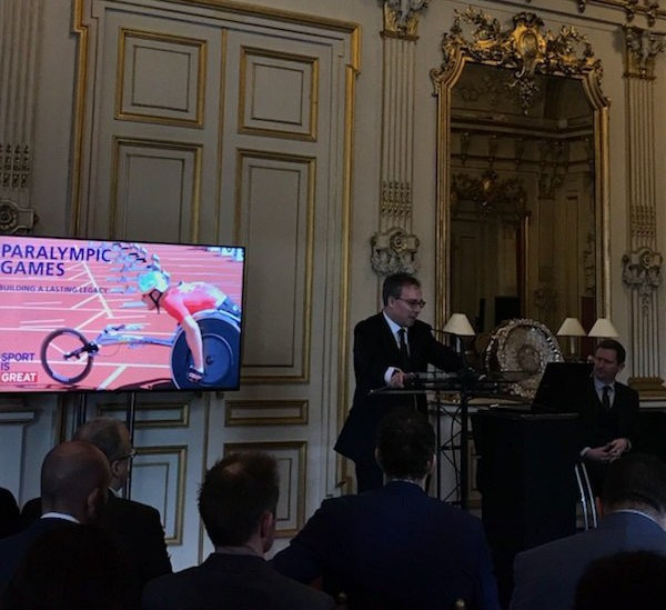 British Embassy in Paris hosts event to discuss legacy ambitions for 2024 Paralympic Games