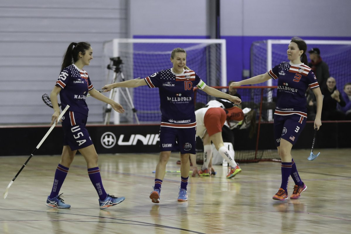 The United States were the only qualifiers from the Americas, and will compete in Group D against Australia, Singapore and Thailand at this year's Women's World Floorball Championships in Switzerland ©IFF