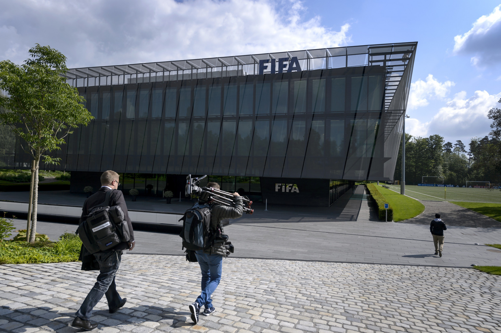 Jeffrey Webb was arrested in 2015 during dawn raids on FIFA's headquarters in Zurich ©Getty Images