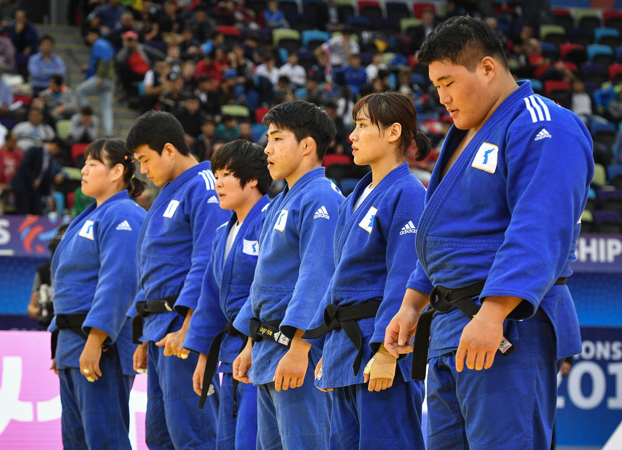 Unified Korean teams could feature in four sports at Tokyo 2020, including in the new mixed team judo event ©Getty Images