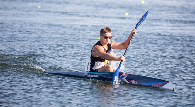 Reiser wins trio of 200m golds on opening day of ICF Oceania Canoe Sprint Championships