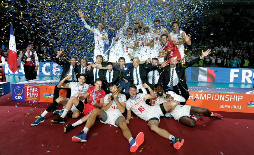 France claim maiden victory at Men's European Volleyball Championships as Slovenia's dream ended