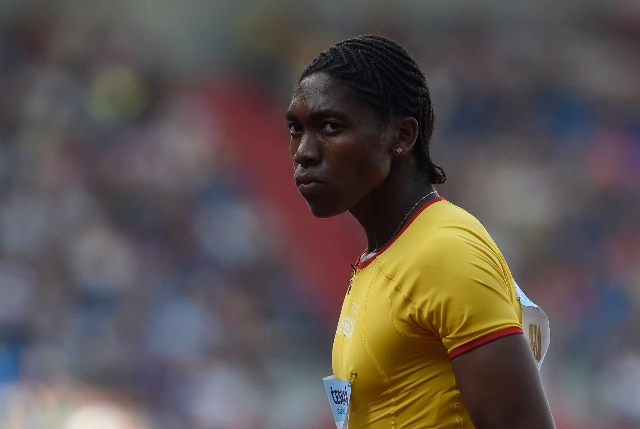 South Africa's Caster Semenya could be banned from competing against women if the CAS rules against her ©Getty Images