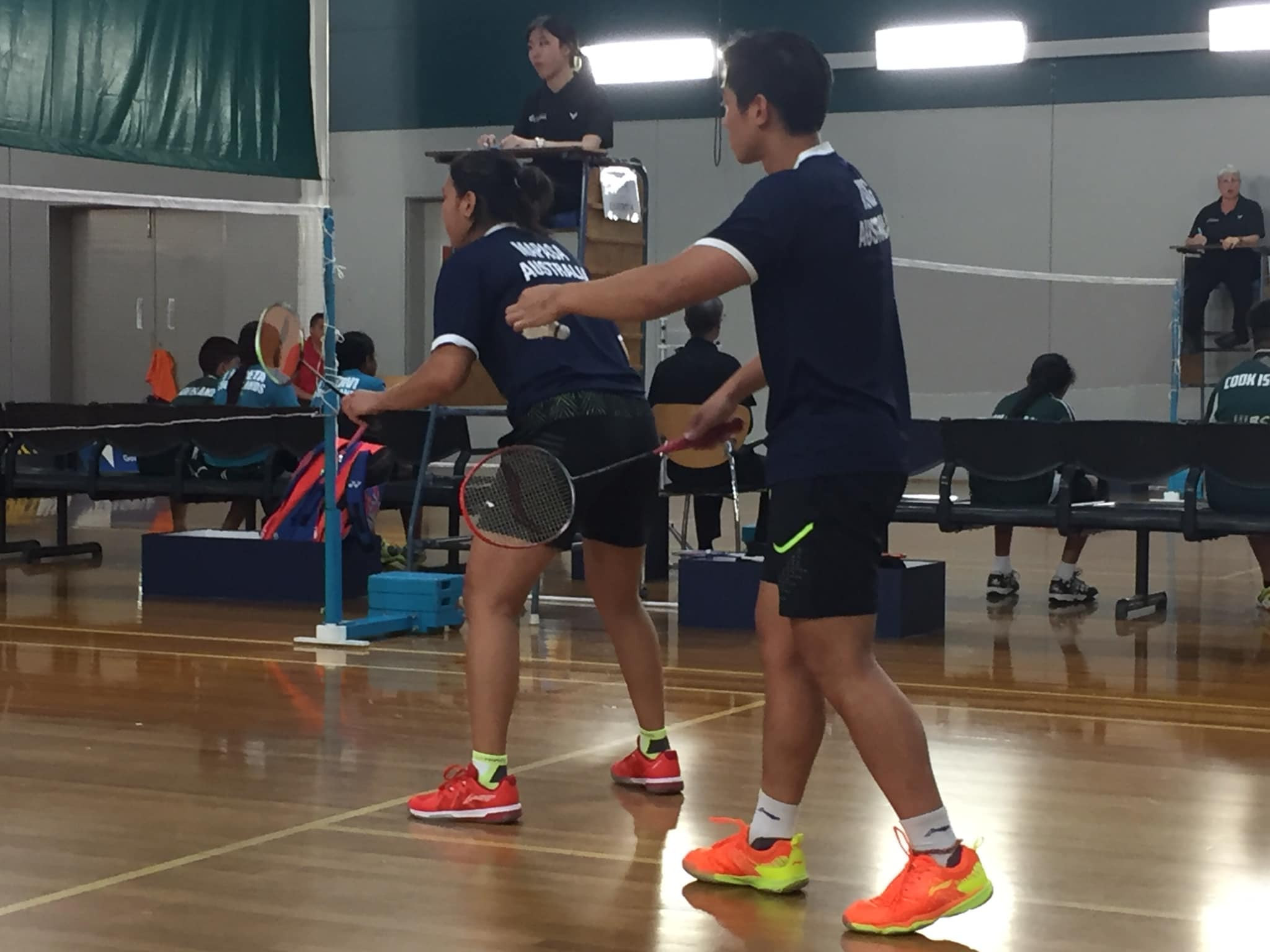 Australia won all three of their fixtures at the Oceania Mixed Team Badminton Championships in Melbourne ©Badminton Australia