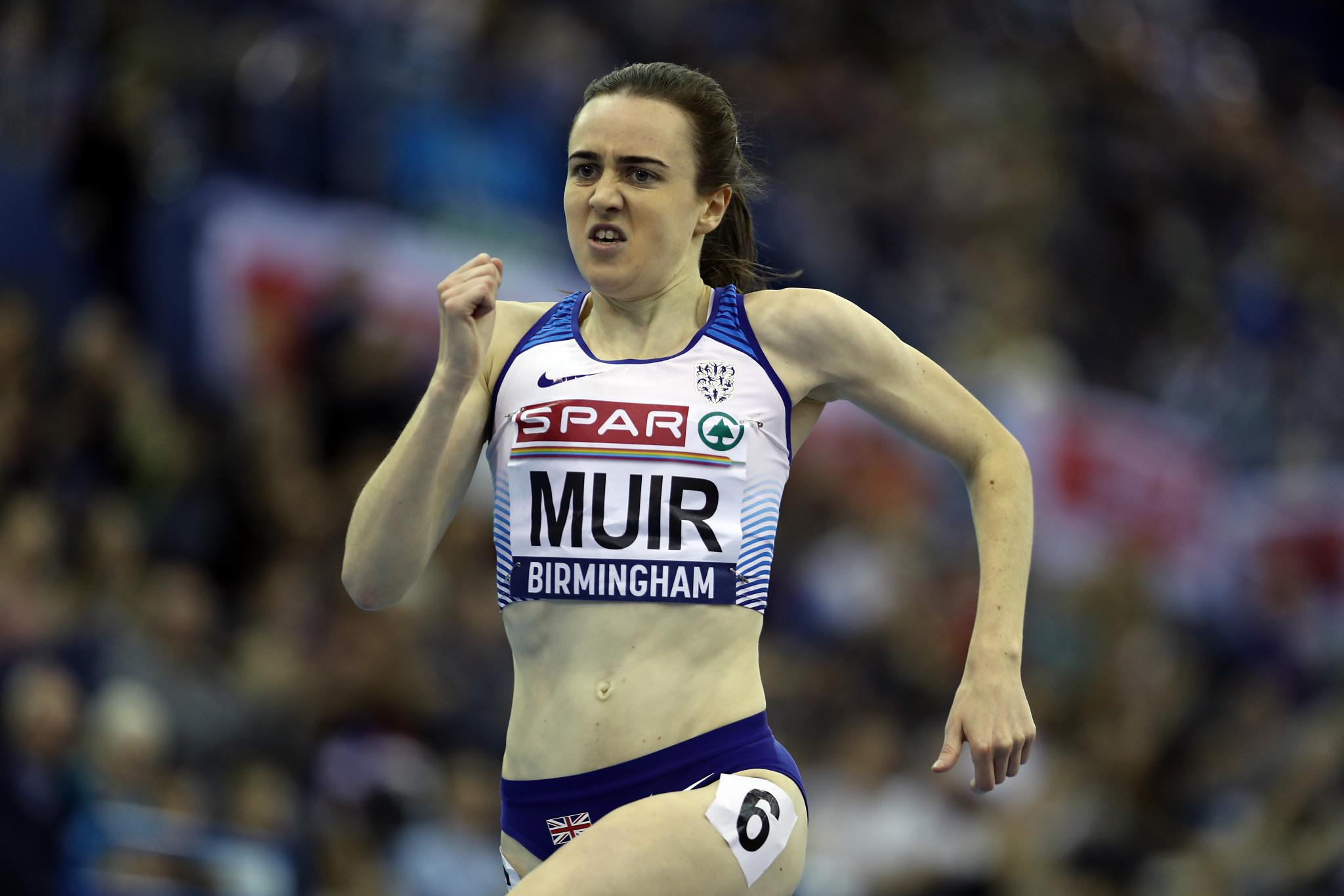 Muir heads British hopes at IAAF World Indoor Tour in Birmingham