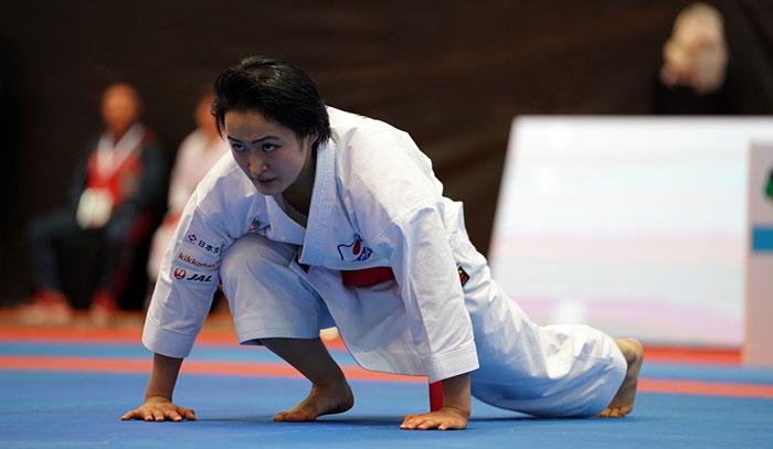World champion Sanchez advances to kata final at Karate 1-Premier League in Dubai
