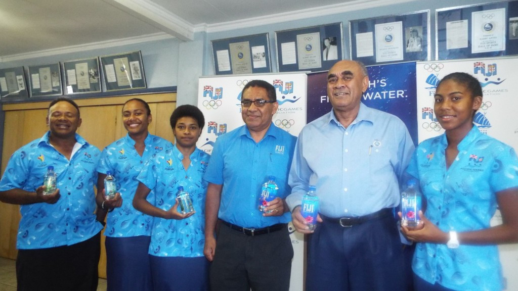 Fiji Water have signed a deal to become the exclusive bottled water sponsor for FASANOC ©FASANOC