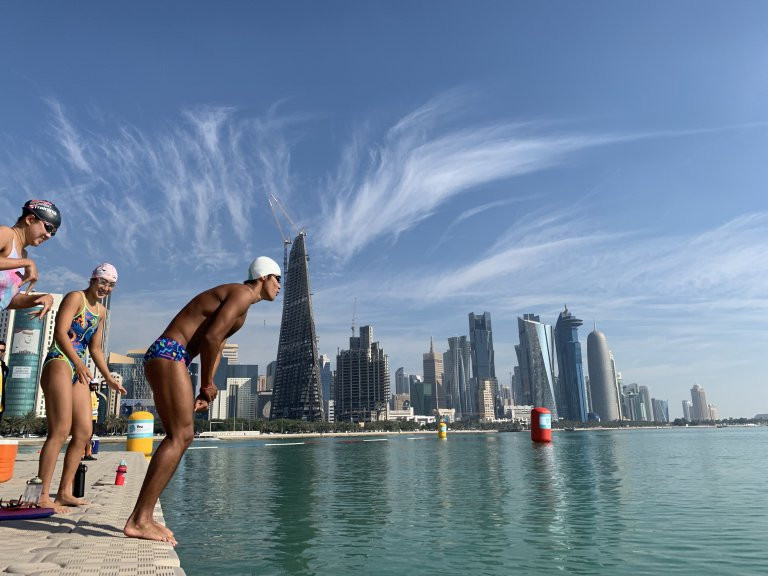 First race of 2019 FINA Marathon Swim World Series to take place in Doha