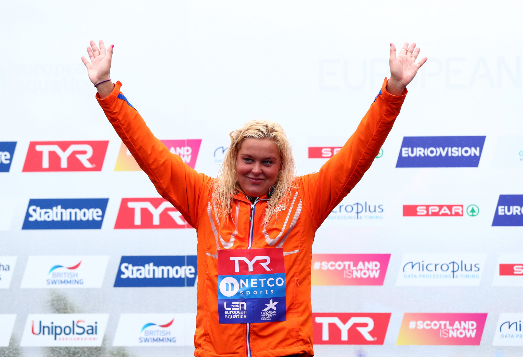 The winner of last year's race in Doha, Sharon van Rouwendaal of The Netherlands, is back to defend her title ©Getty Images