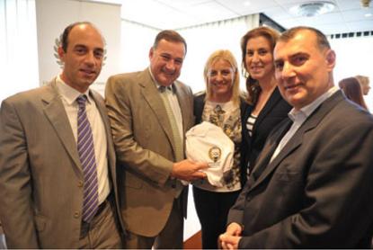 Greek and Georgian Olympic Champions Associations sign Memorandum of Cooperation