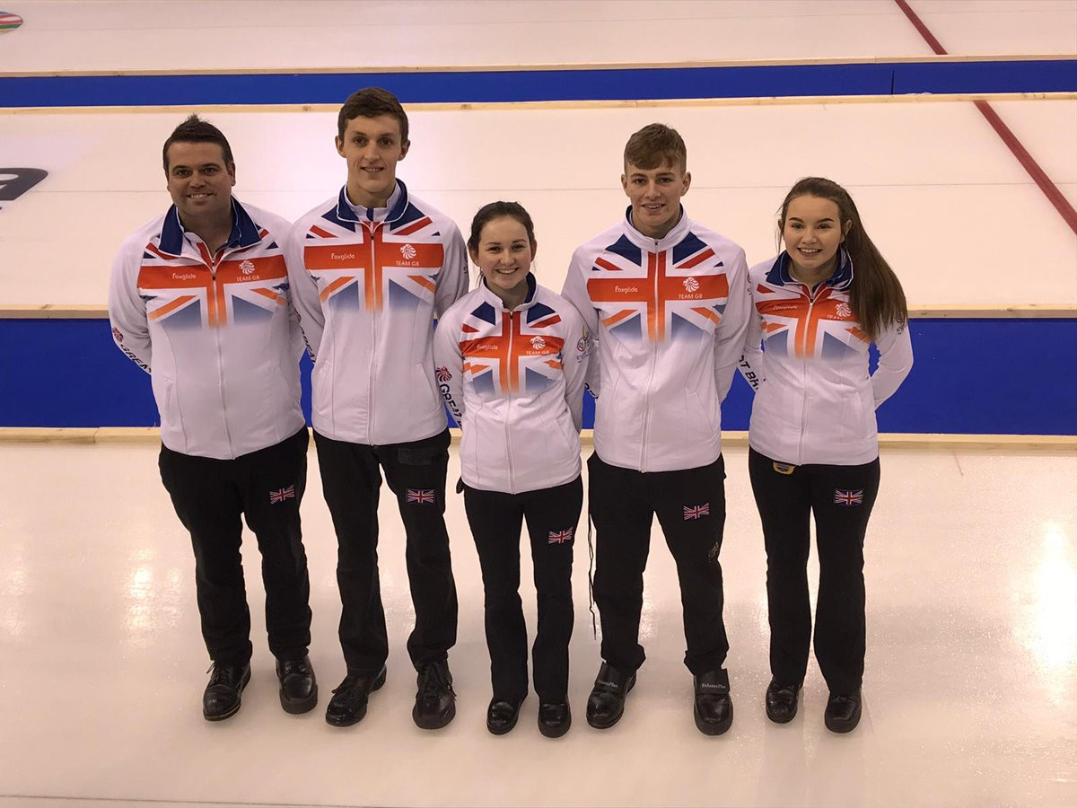 Great Britain beat Switzerland in the mixed team curling final as action concluded today at the 2019 Winter European Youth Olympic Festival in Sarajevo and East Sarajevo ©Team GB/Twitter