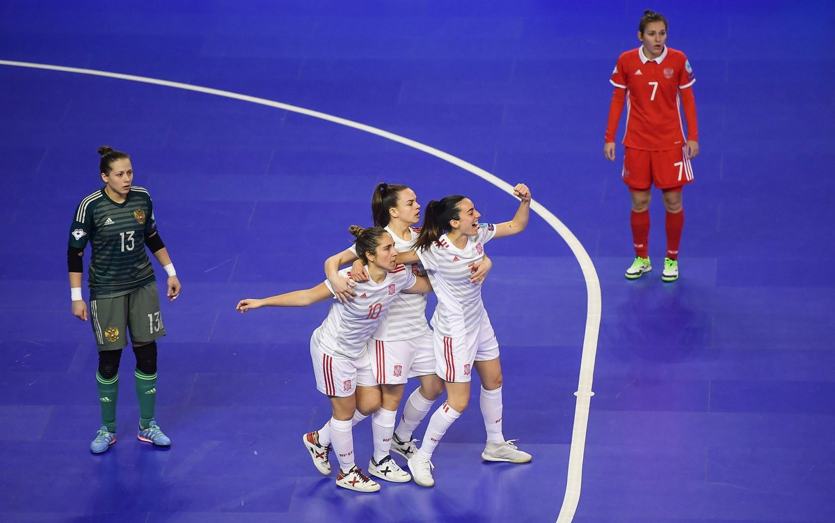 Hosts Portugal and Spain progress to final of inaugural UEFA Women's Futsal Euros