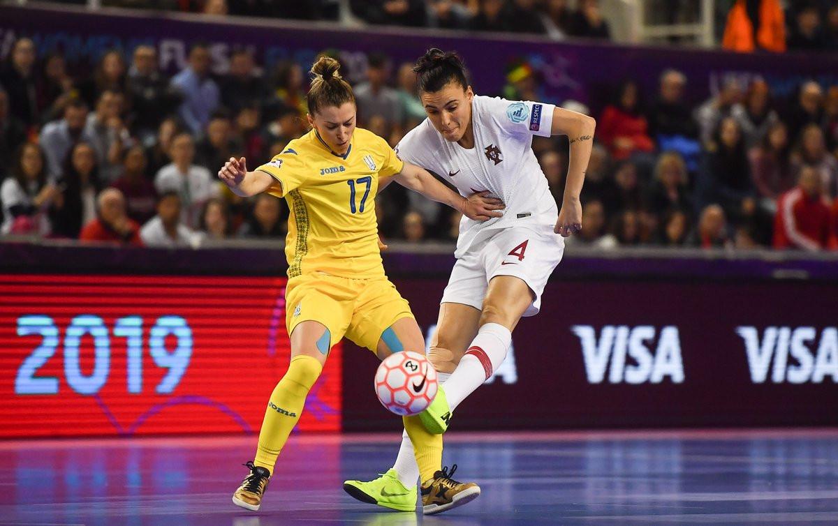 Hosts Portugal defeated Ukraine to reach the final of the inaugural UEFA Women's Futsal Euros ©UEFA Futsal