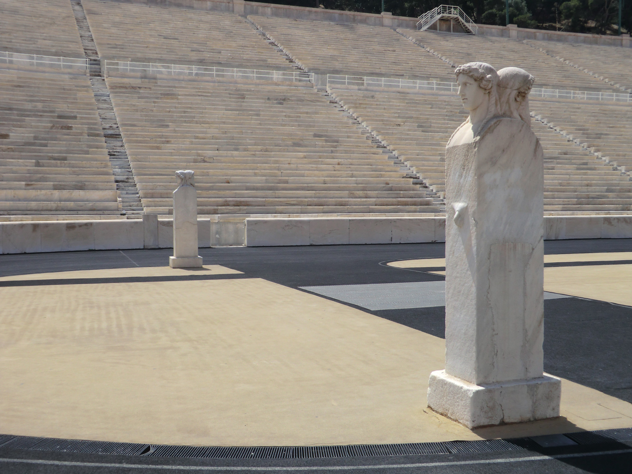 The restoration of the Panathinaiko Stadium for the first modern Olympic Games in 1896 helped gain support for the event in Greece after many had been opposed to the plan ©ITG
