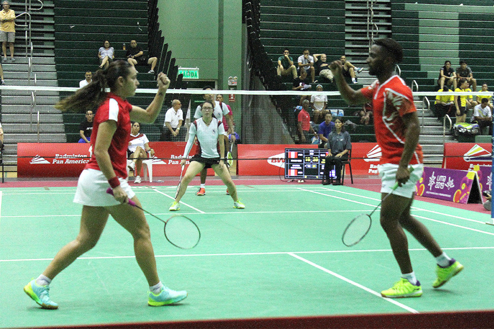 Cuba defeated hosts Peru to make the semi-final of the Pan Am Mixed Team Badminton Championships in Lima ©Badminton Pan America
