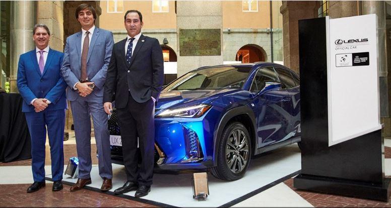 Lexus named official car of 2019 Davis Cup Finals