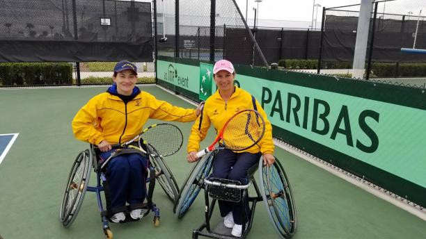 Colombian wheelchair tennis players jointly named APC Athlete of the Month for January