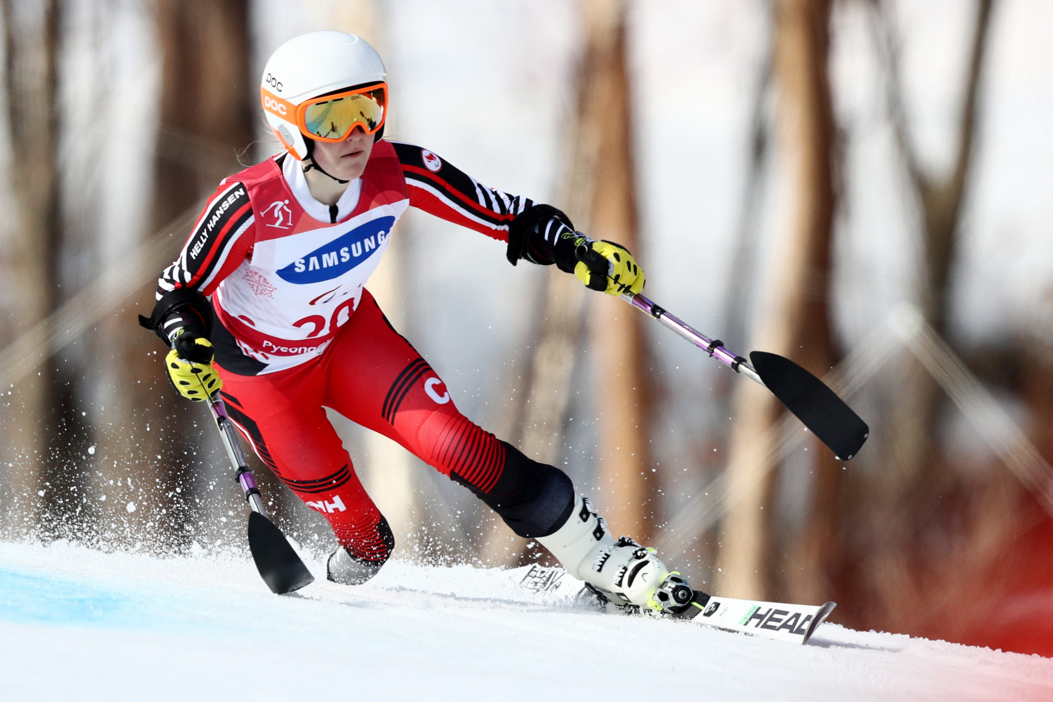 Canada's Frederique Turgeon came second in the vote after winning three medals at the World Para Alpine Skiing Championships shortly after the death of his father ©Getty Images