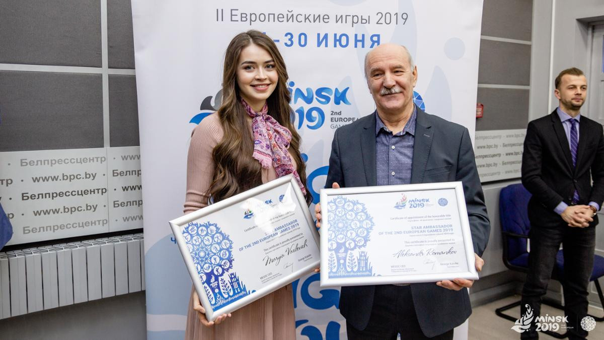 Former Olympic fencing champion and Miss Belarus 2018 named ambassadors for Minsk 2019