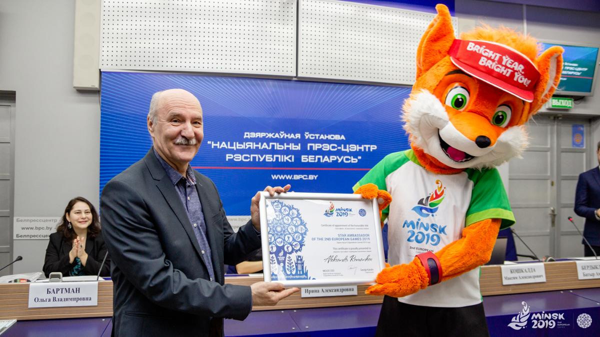 Alexander Romankov won an Olympic gold and 10 world titles during his fencing career competing for the USSR ©Minsk 2019