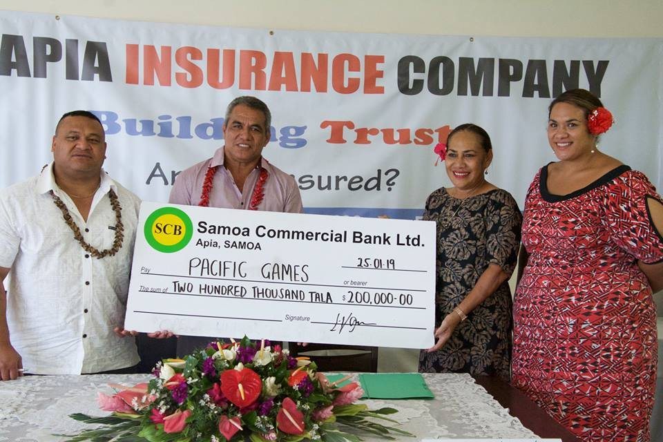 The agreement comes swiftly after a sponsorship was agreed with Apia Insurance ©Samoa 2019