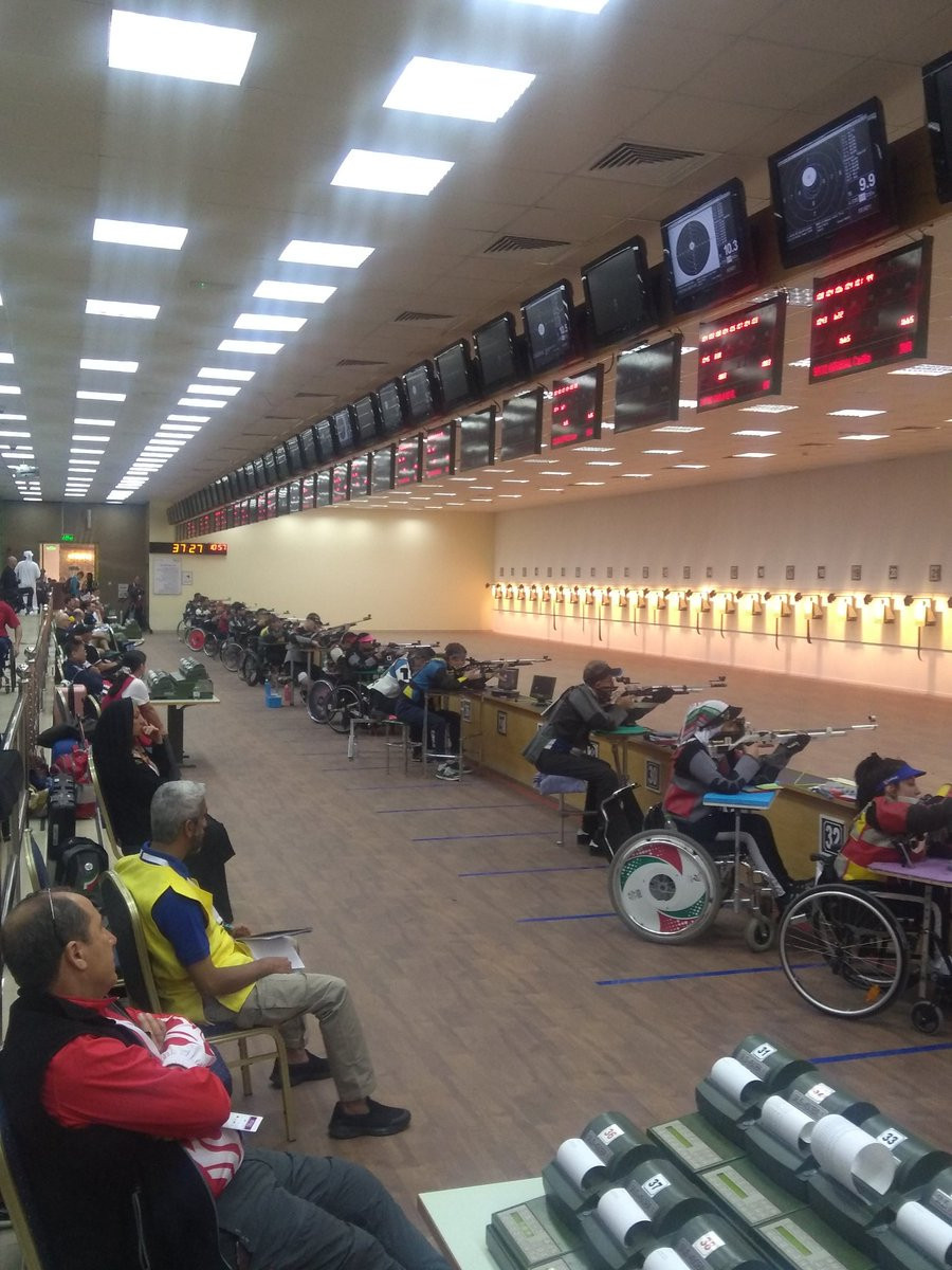 Action is taking place at the Al Ain Equestrian, Shooting and Golf Club until February 24 ©Shooting Para Sport