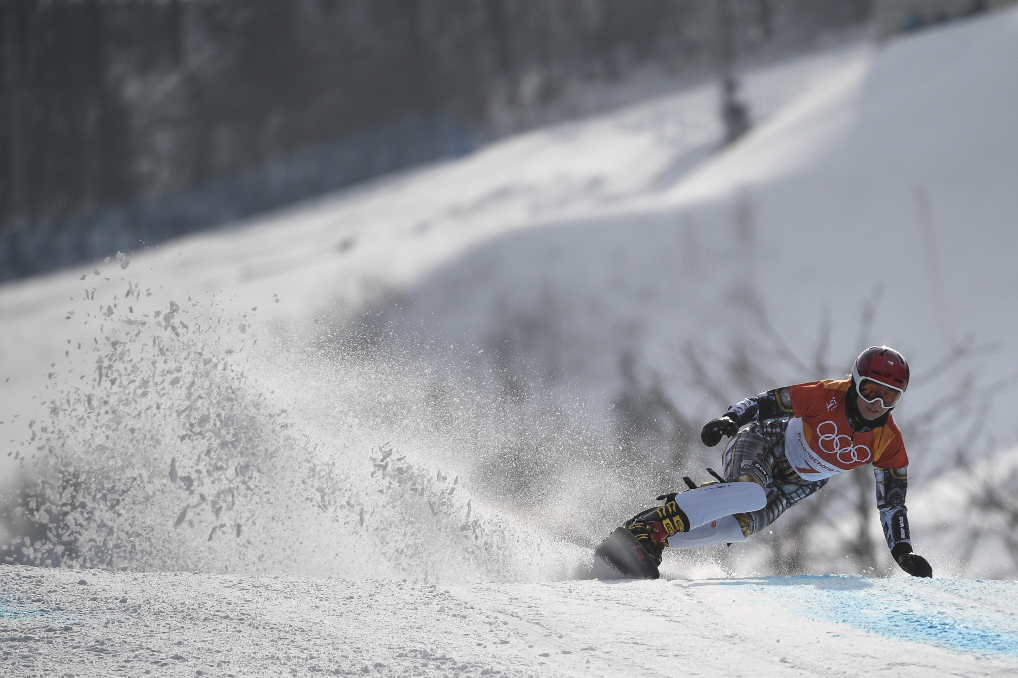Ledecká wins parallel giant slalom on return to FIS Snowboard World Cup in Pyeongchang