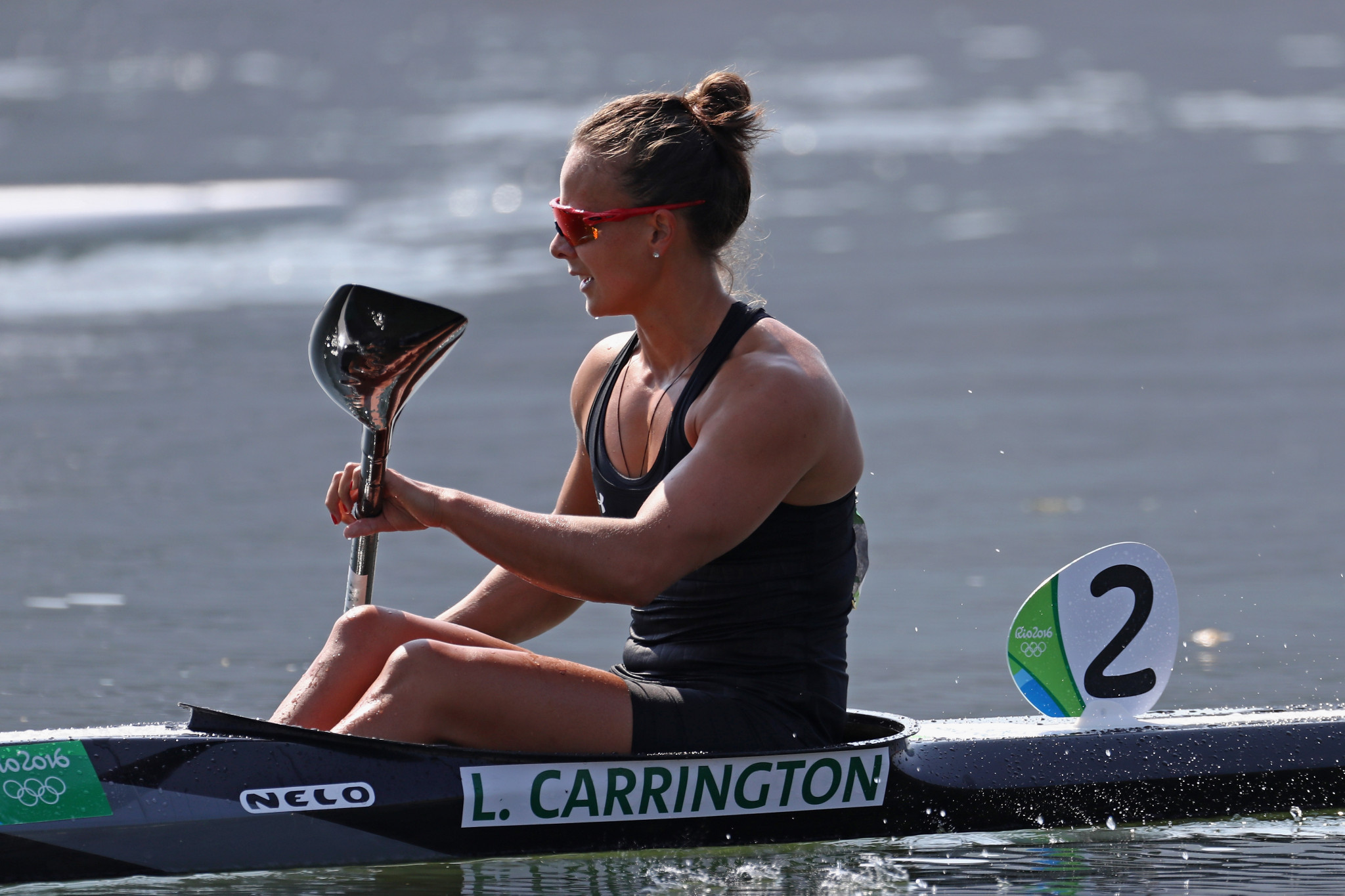 Lisa Carrington is a two-time Olympic champion, having won gold in the K1 200m at London 2012 and Rio 2016 ©Getty Images