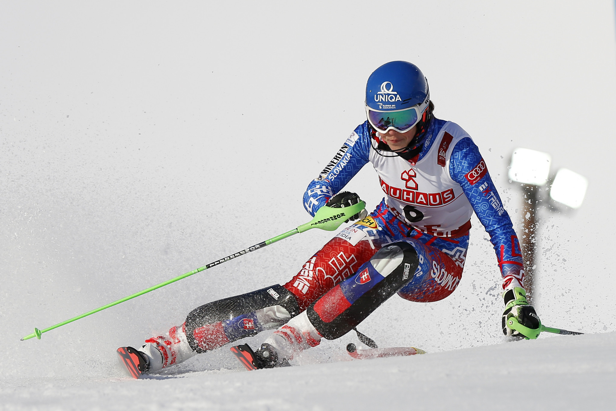Giant slalom champion Petra Vlhová earned the bronze medal ©Getty Images