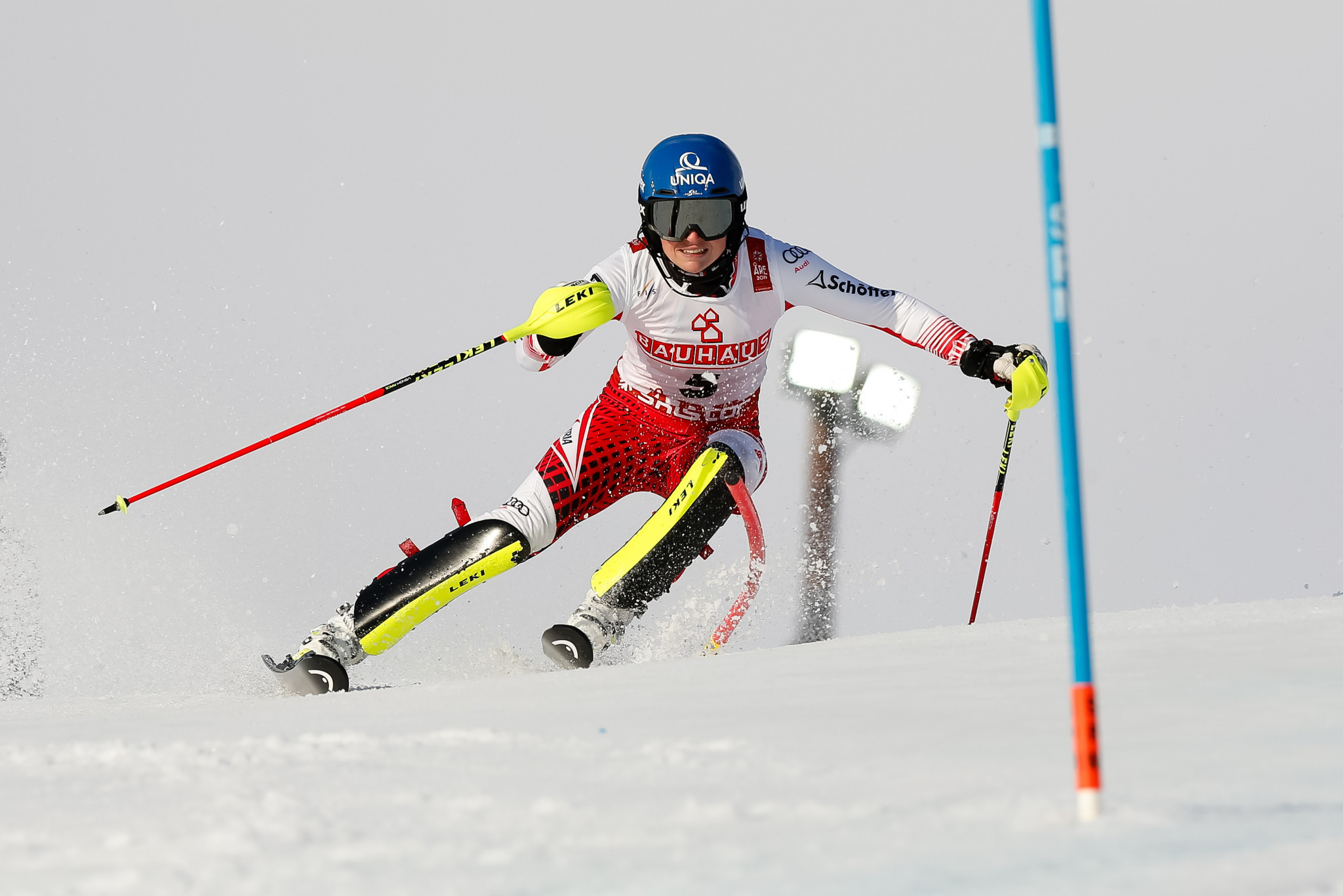 The slalom competition was the final women's event of the Championships ©Getty Images