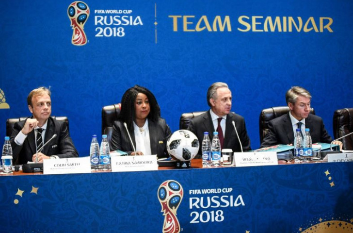 After being banned from the Olympics for life by the IOC in December 2017, Mutko stood down from his role as President of the Russia 2018 World Cup Organising Committee, being replaced by Alexey Sorokin ©Getty Images