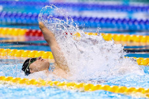 New Zealand's Cameron Leslie won two more gold medals at the World Para Swimming World Series today, breaking a world record that had stood for nearly 11 years in the process ©Getty Images